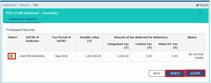 Option to avail TDS TCS credit is now available2