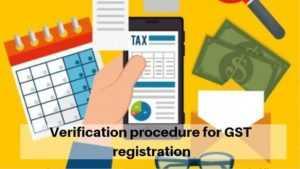 Verification of GST Registration