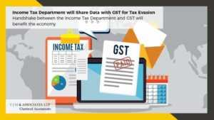 The Income Tax Department Will Share ITR Data With GST For Tax Evasion