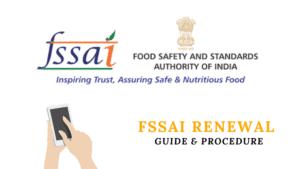 FSSAI Renewal