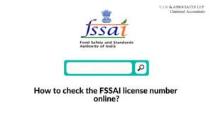 How to check the FSSAI license number online?