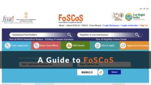A Guide to FoSCoS