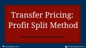 Profit Split Method in India
