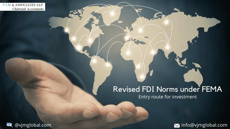 Revised FDI Norms under FEMA
