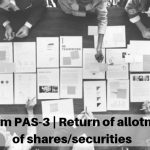 E-Form PAS-3 | Return of allotment of shares/securities