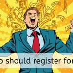 Who should register for GST