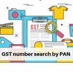 GST number search by PAN