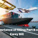 Importance of filling Part B of Eway Bill