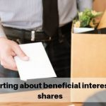 Reporting about beneficial interest in shares